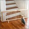 Gate - WOOD - Pet - Free-Standing - Expandable - NATURAL