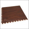 Cushioned Floor Mat - Wood Grain - 2 x 2 Foot Section - CHERRY