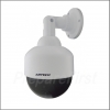 Simulated Security Camera - Indoor/Outdoor - Dome with LED Light