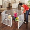 Gate - LIGHT GRAY - CONFIGURABLE PLAY ENCLOSURE - 6 PANEL