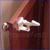 Cabinet & Drawer Lock - Spring Loaded - WHITE - 4 PACK