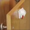 Cabinet & Drawer Lock - Magnetic #3 - Low Profile - 8 Pack & 1 Key
