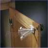 Cabinet & Drawer Lock - ON/OFF Swivel #1 - 4 Pack
