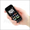Self-Defense Stun Device - CELL PHONE EXTERIOR - BLACK
