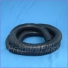Cord Cover - BLACK - FLEXIBLE - 6 FT - 1 Inch Diameter