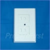 Outlet Cover - 2 prong - WHITE