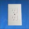Outlet Cover - 3 Prong - WHITE