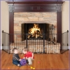 Gate - BLACK - CONFIGURABLE - 5 PANEL (Fireplace Model)