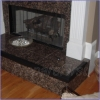 Hearth Protection - BLACK - Pad & Frame