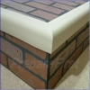 Hearth Protection - IVORY - Pad & Frame