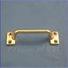 Window Sash Handle - BRASS - 2 Pack