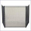 Fire Screen - #2 - Tri-Panel - XTRA LARGE - 29.5 INCH TALL x 48 TO 72 INCH WIDE
