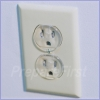 Outlet Insert - CLEAR - 12 Pack