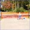 Driveway Safety Barrier - RETRACTABLE - 18 FT
