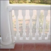 Railing/Banister Barrier - WHITE - RETRACTABLE ROLL - 16 FT