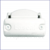 Gate - WHITE -  Retractable - Auto/Manual Time-Delay - Banister Adapter -  Housing Side