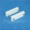 Gate Mount - WHITE - Post Clamp - 2 to 3.5 INCH POST