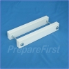 Gate Mount - WHITE - Post Clamp - 3.5 TO 5.5 INCH POST