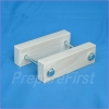 Gate Mount - NATURAL - Post Clamp - 2 to 3.5 INCH POST