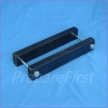 Gate Mount - BLACK - Post Clamp - 3.5 TO 5.5 INCH POST